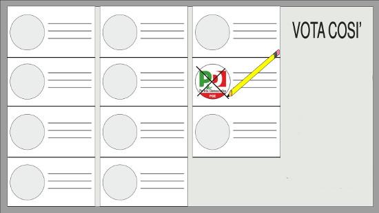 Seconda scheda elettorale